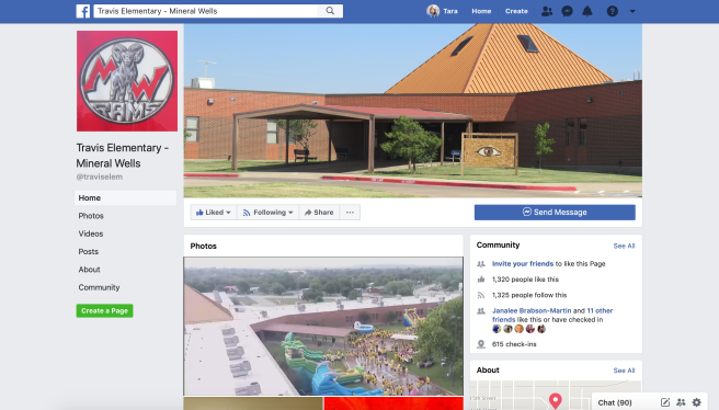 Travis Elementary FB Page