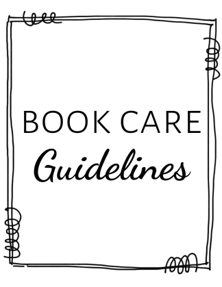 Book Care Guidelines